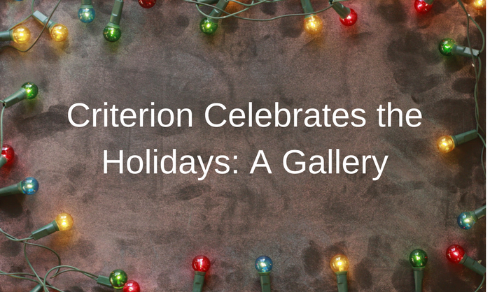 Criterion Celebrates the Holidays: A Gallery