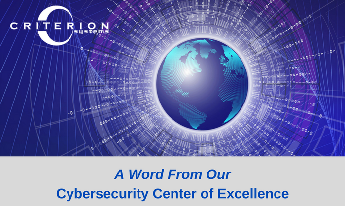 Criterion | Cybersecurity CoE