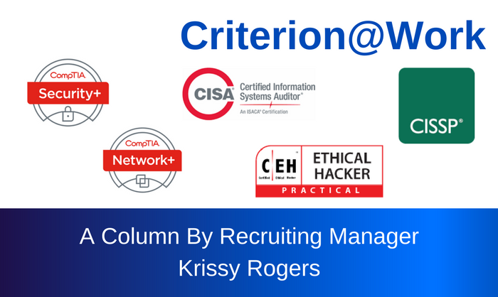 Criterion | Professional Certifications