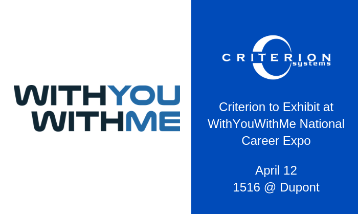 Criterion | Careers | Events