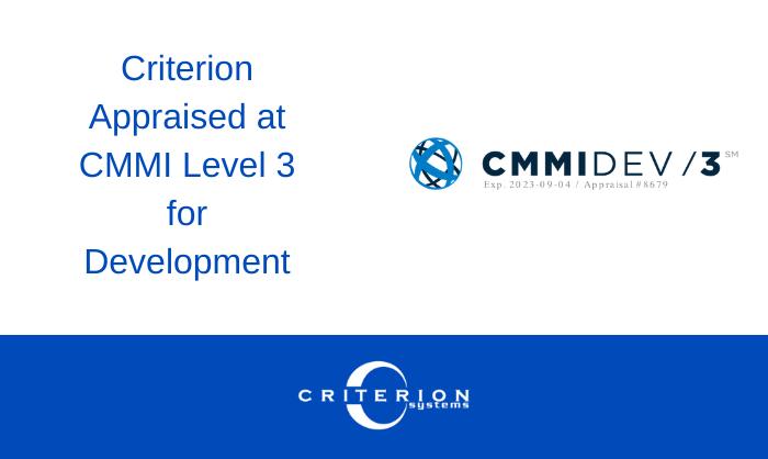 Criterion | Announcement